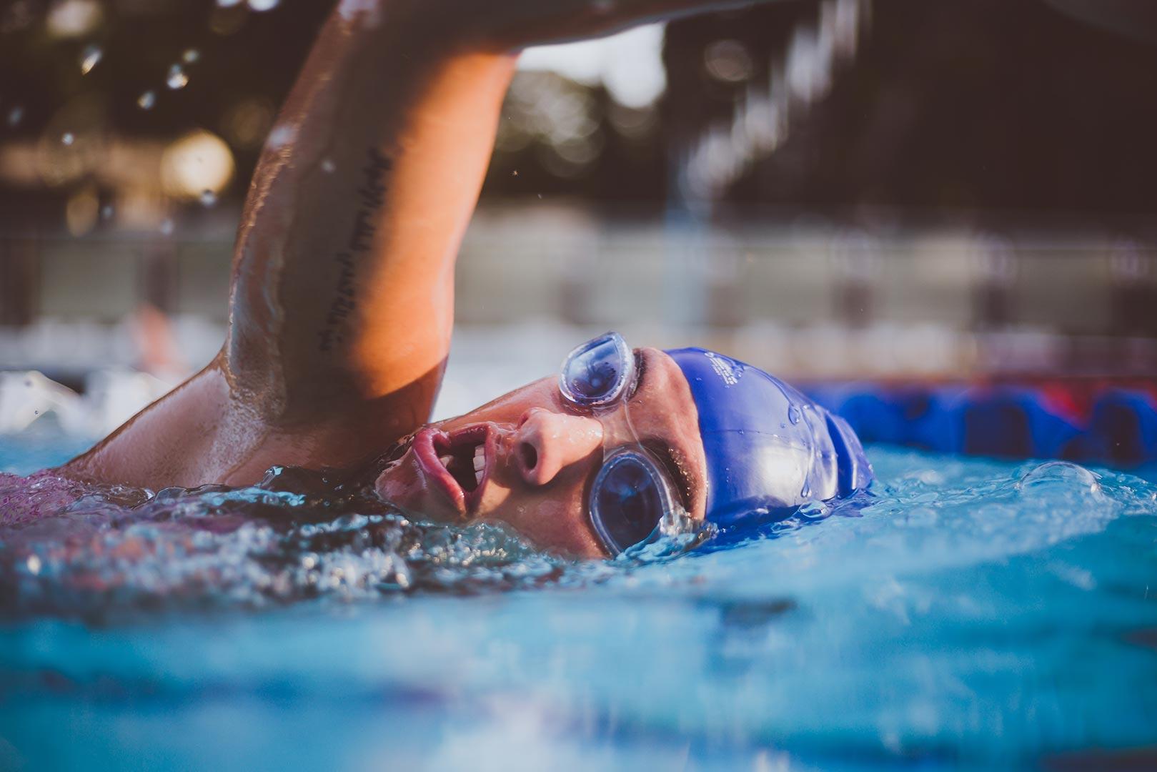Lenti a contatto in piscina