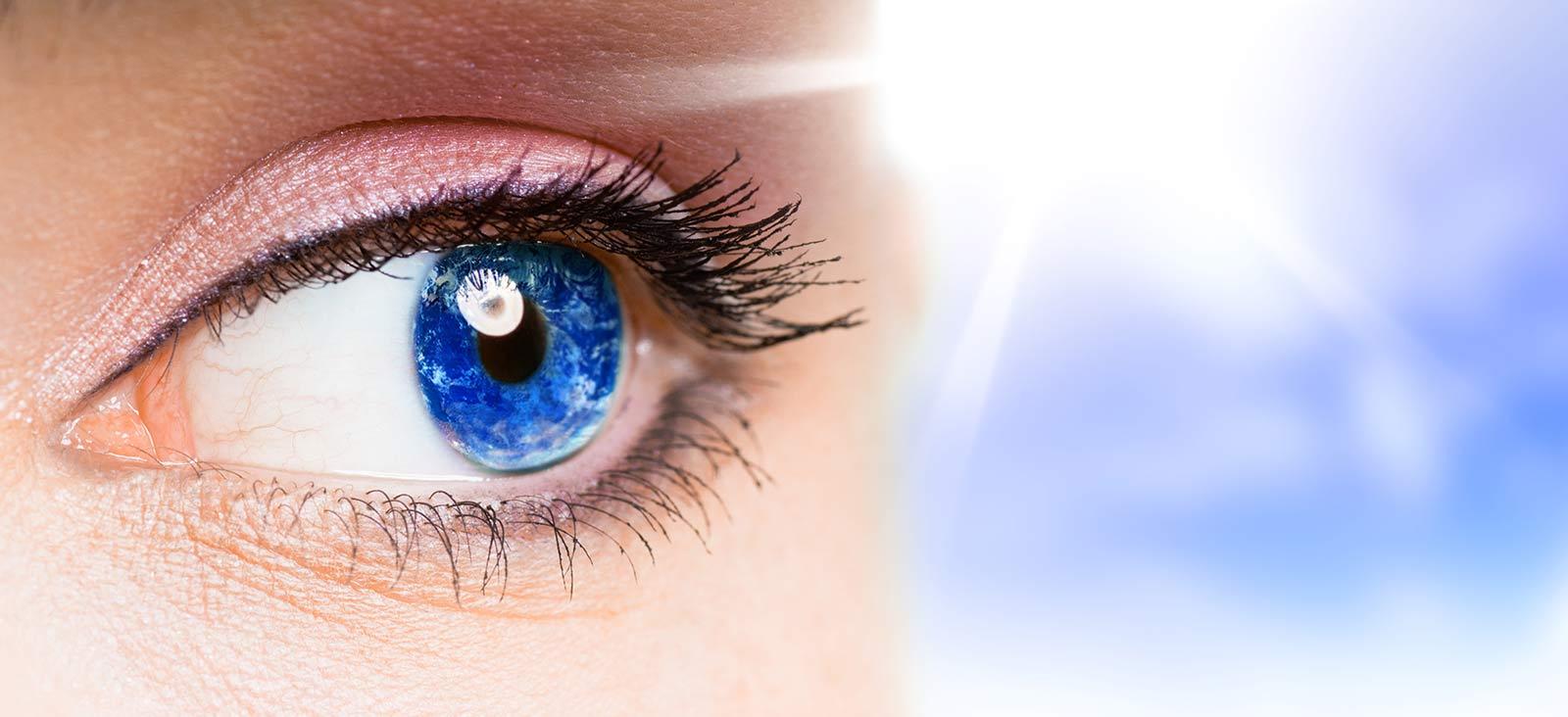 occhi sensibili alla luce