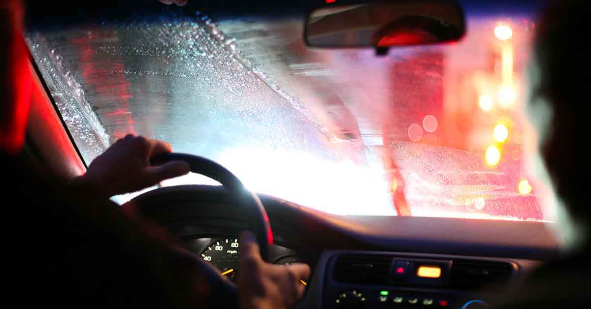 guidare di notte