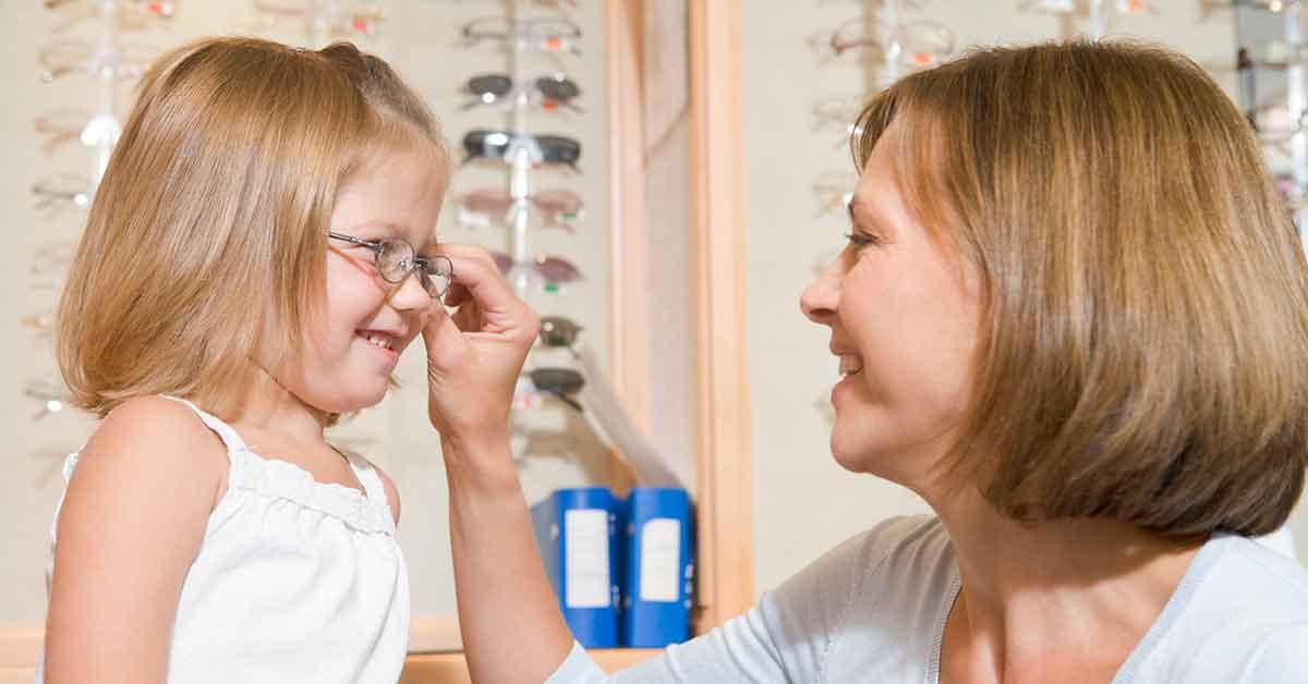 occhiali da vista per bambini
