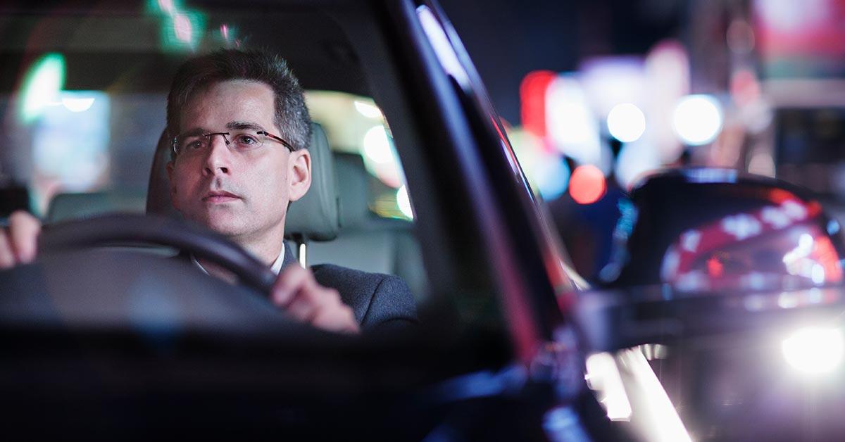 occhiali per la guida notturna