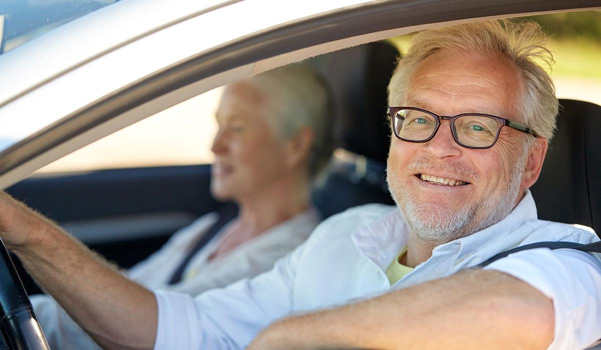 occhiali per la guida