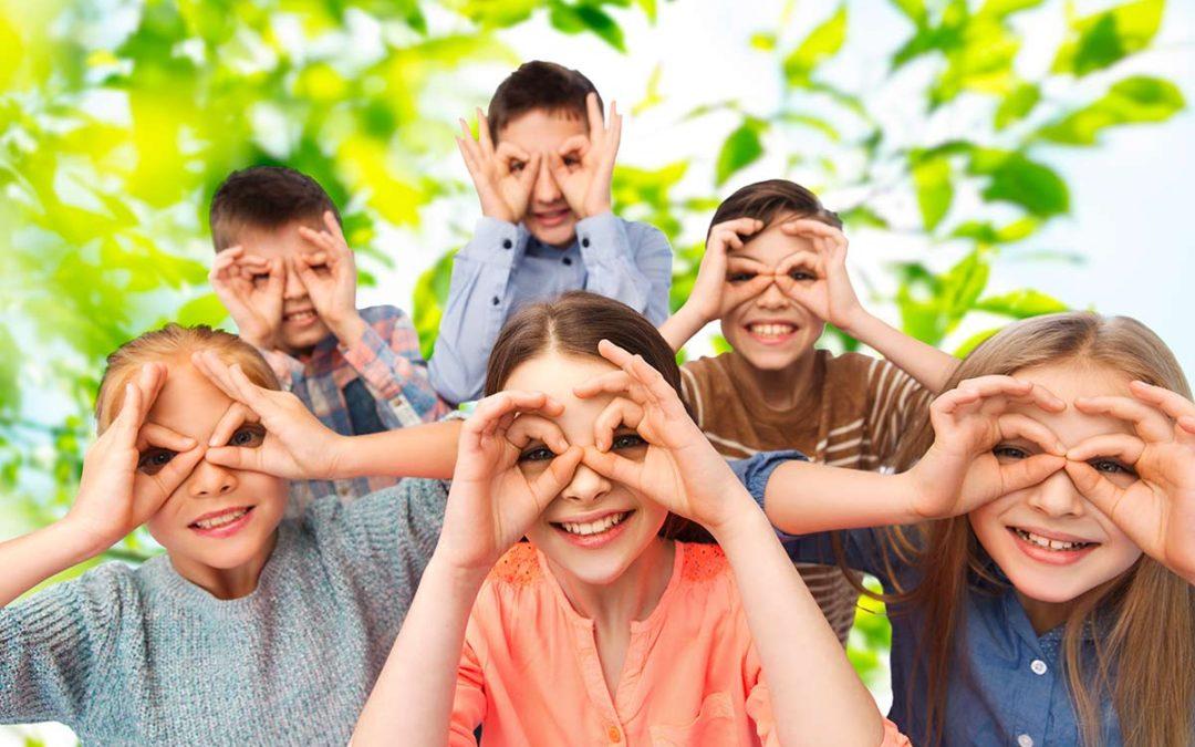Vista bambini: tutto quello che devi sapere in base all'età.